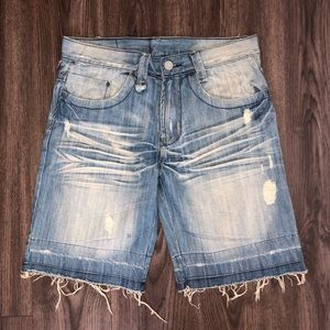 Levi's Engineered Jeans distressed 32 Shorts J2-9